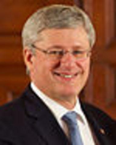 Stephen Harper Elected Prime Minister