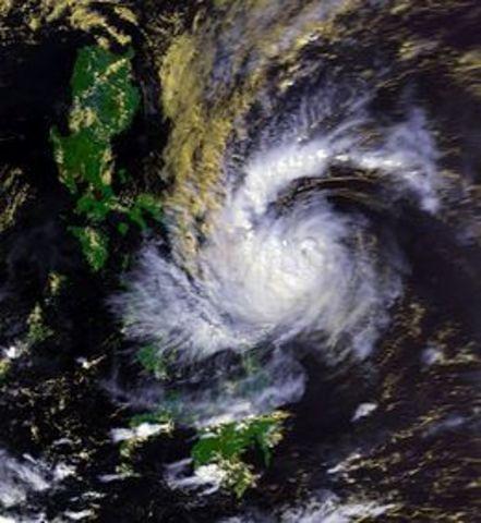 Typhoon Uring (Thelma)