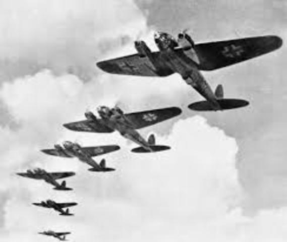 The Air Battle of Britain begins