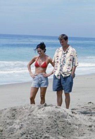 Monica for did go honeymoon chandler their and where Friends (season