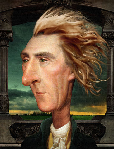 Jefferson is reelected as president of the United States