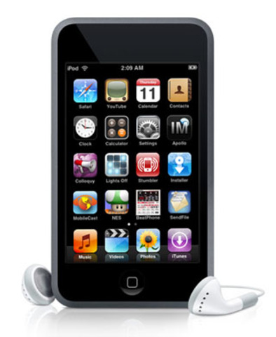 New apple itouch