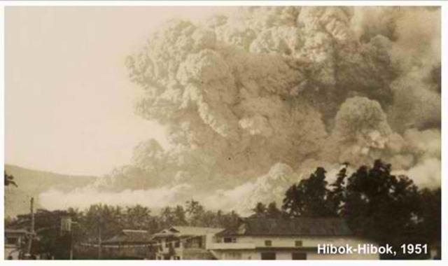 1951 Mt. Hibok-Hibok Eruption