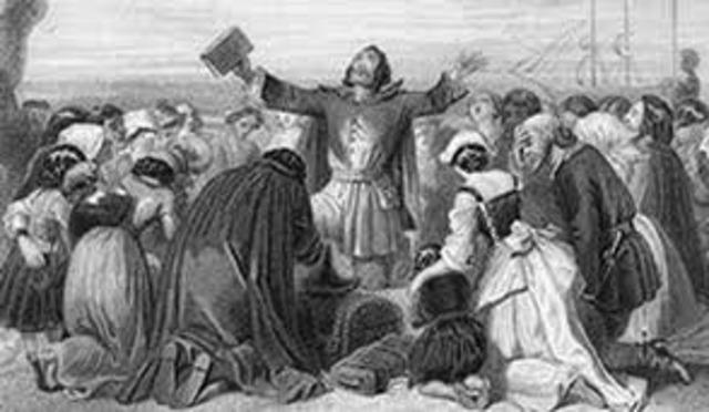 Puritans Arrive in America