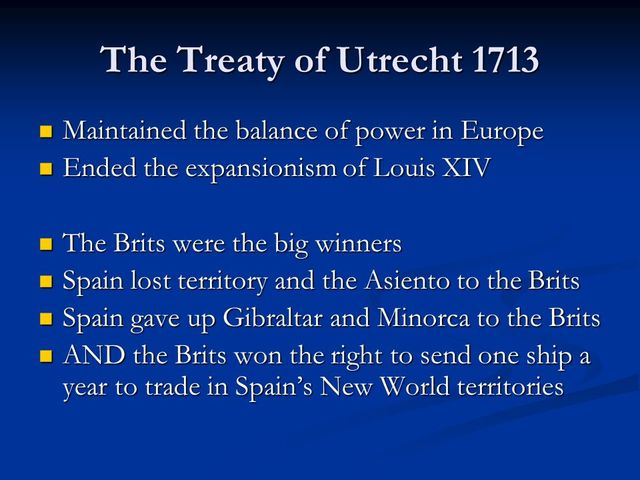 Treaty of Utrecht (1. Start of negociations)
