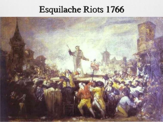 Esquilache Riots (Motín de Esquilache)