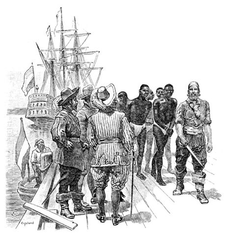 Slavery started in New York and New Jersey.
