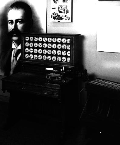 Herman Hollerith La maquina tabuladora, perforadora de tarjetas y ordenadora