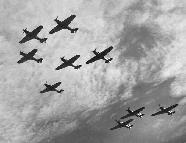 Battle of Britain/ The Blitz