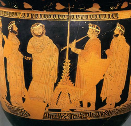 625 BC : Dithyrambic Chorus