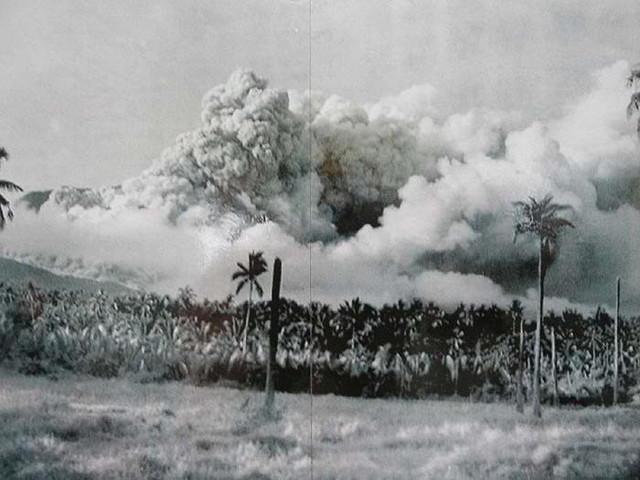 Mount Hibok-Hibok Volcanic Eruption