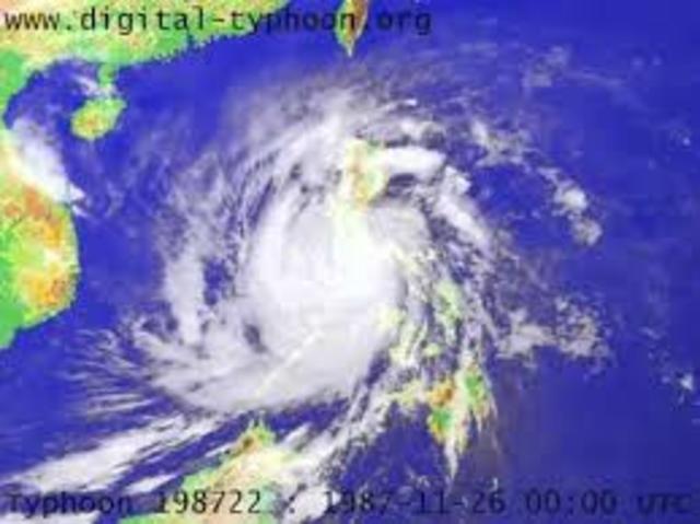Typhoon Nina (Amy)