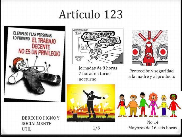 El artículo 123 Constitucional