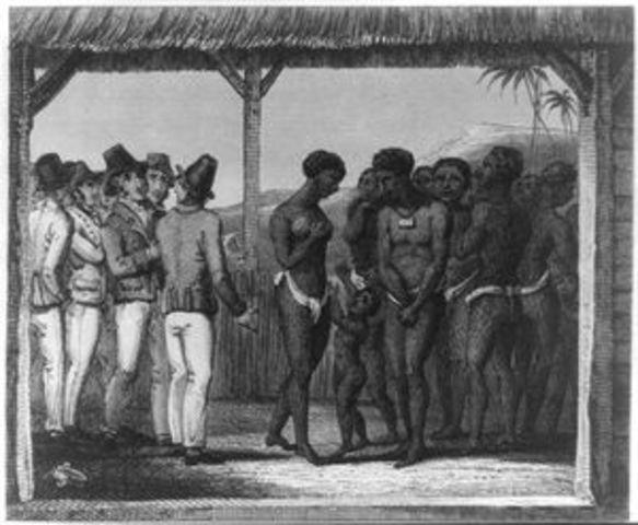 Lifelong servitude for all black slaves