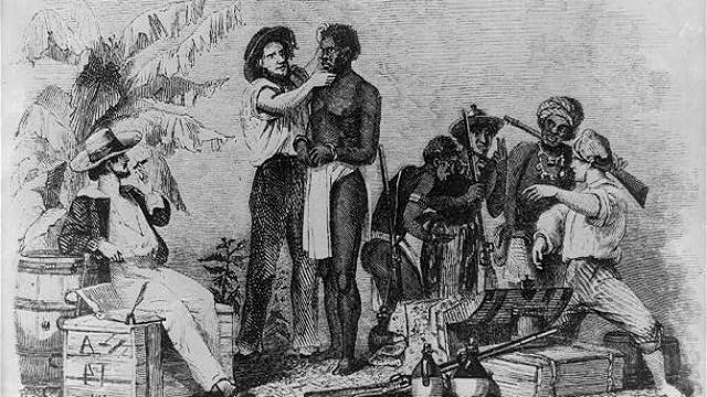 Slave Trade began in Massachusetts