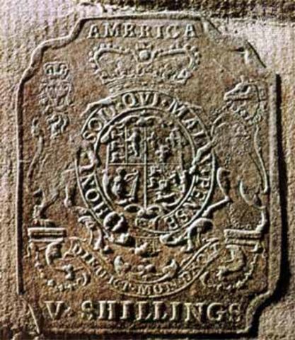 Stamp Act passed