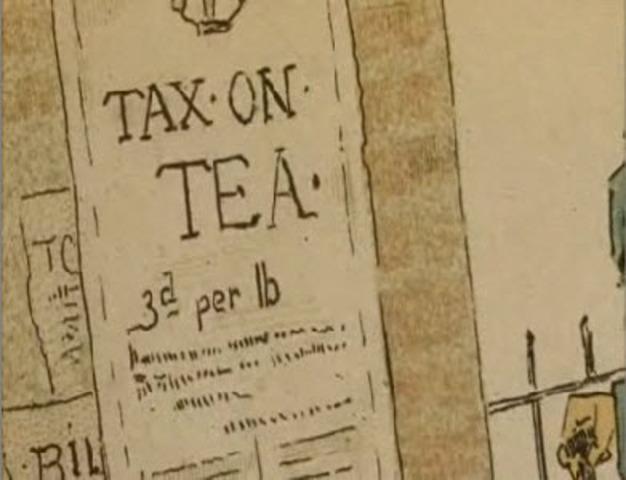 Tea Act passed