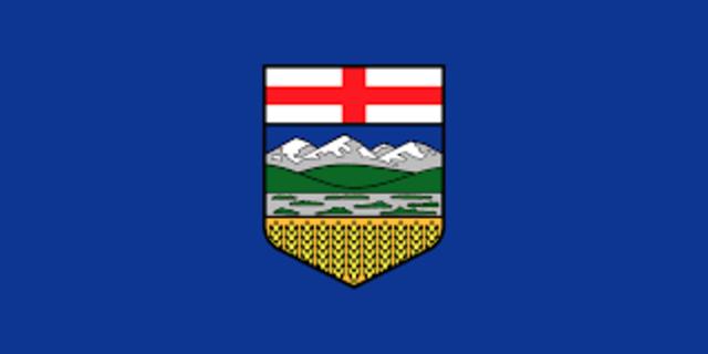 Alberta is created