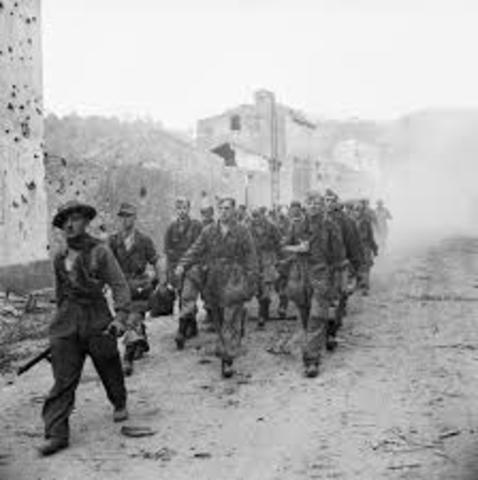 Invasion of Italy (Battle of Salerno)