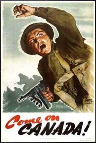 Canada Declares War on Nazi Germany