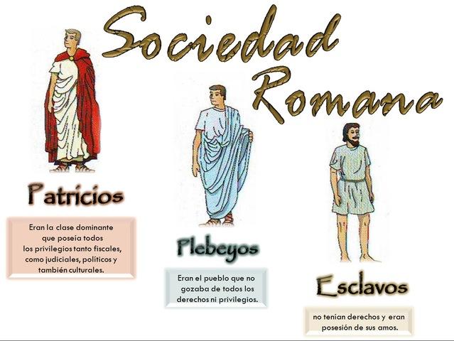 Luchas sociales en Roma entre patricios y plebeyos.