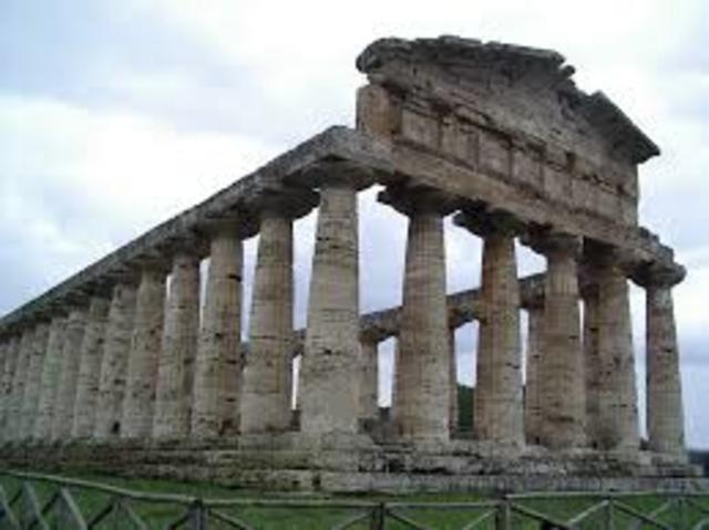 Construcción templos de Ceres, Liber y Libera.