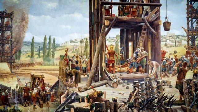 Roma capturada y destruida por los galos.