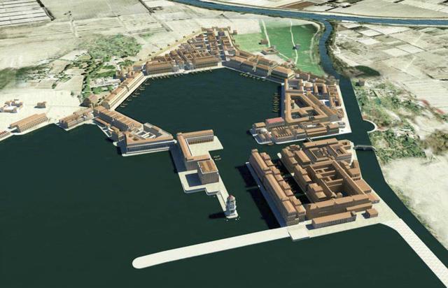 Fundación de la colonia de Ostia.