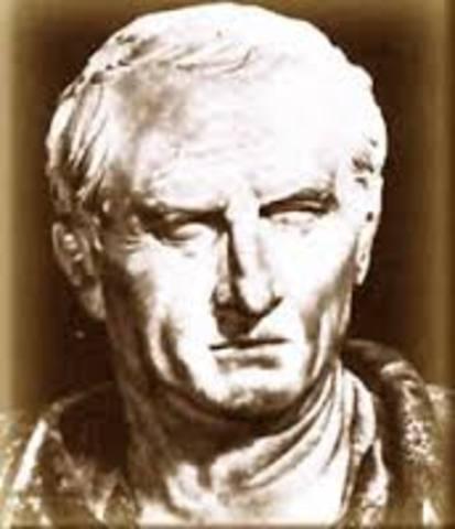 Nace Livio Andrónico, primer poeta latino, iniciador de la literatura en esa lengua. Muere en 204.