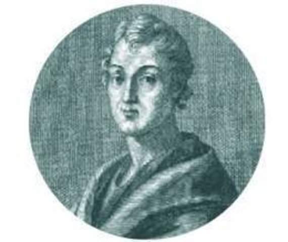 Nace Gneo Nevio, poeta latino, comediógrafo y primer escritor épico nacional, que compuso un poema dedicado a la primera Guerra Púnica. Muere en 201.