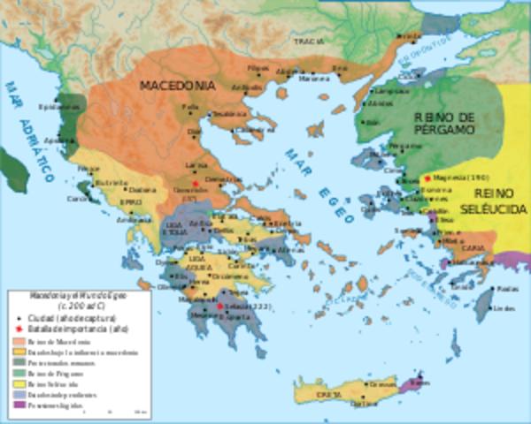 Primera Guerra Macedónica.