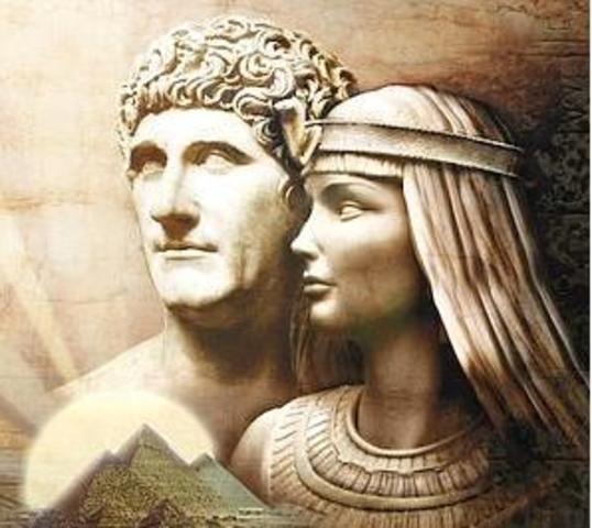 Batalla de Accio: Octavio derrota a Marco Antonio y Cleopatra.