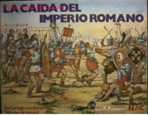 Caída del imperio romano y comienzo de la edad media