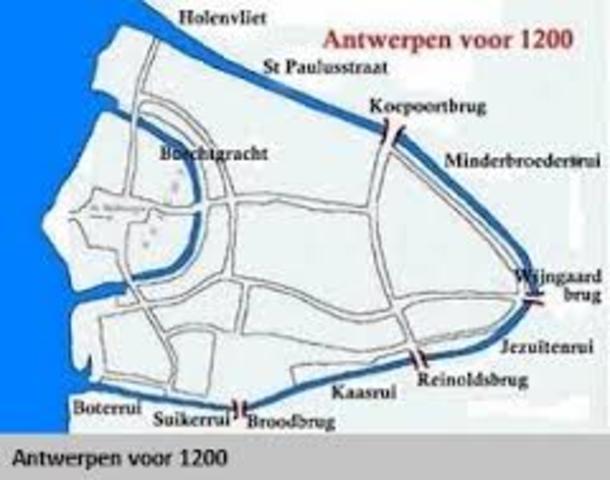 Antwerpen wordt ruienstad