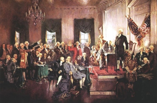 The Constitution of the United States is adopted.