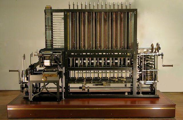 Maquina de diferencias y analitica