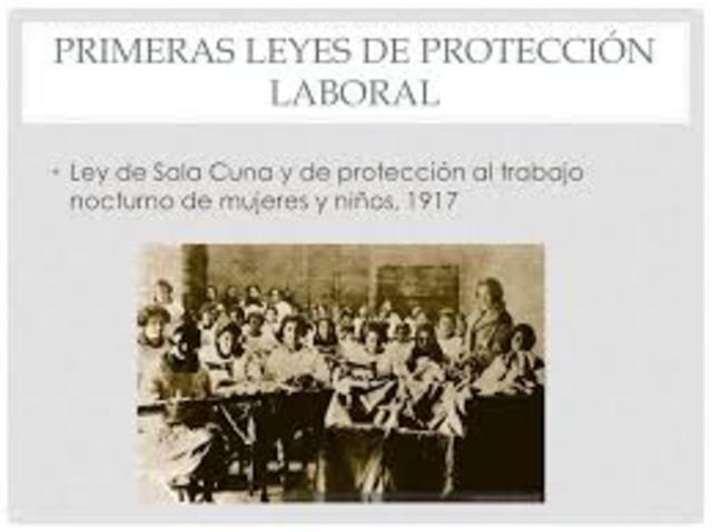 Ley protección de mujeres y niños.