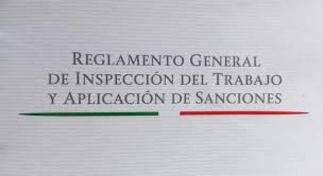 Reglamento de la inspección de trabajo.