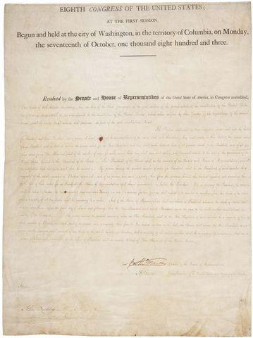 The Twelfth Amendment is ratified