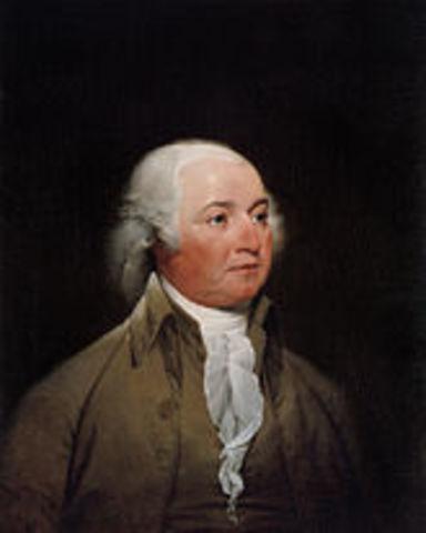 John Adams was elected as president