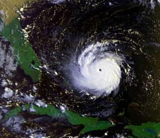 A Category 5 hurricane killed sixty-five people