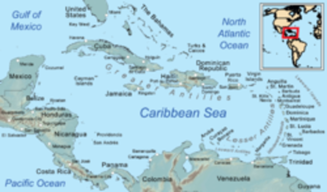 The US and the UK defined their maritime border in the Caribbean Sea