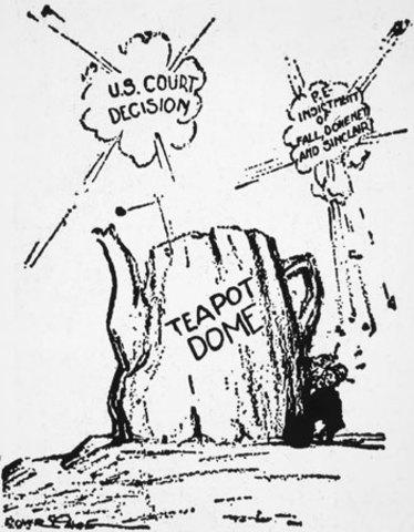 Tea Pot Dome Scandal
