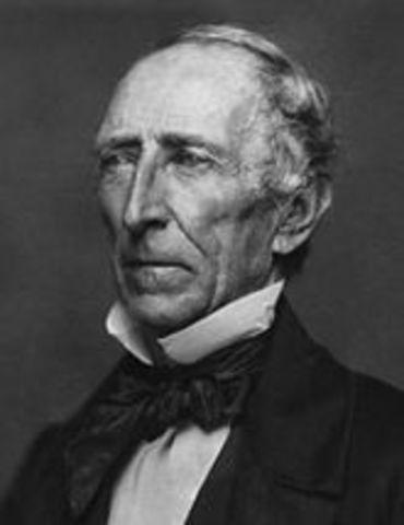 John Tyler is elected president