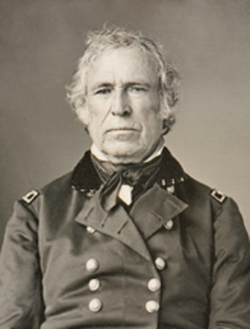 Zachary Taylor is elected president
