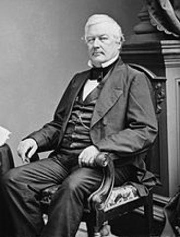 Millard Fillmore is elected president
