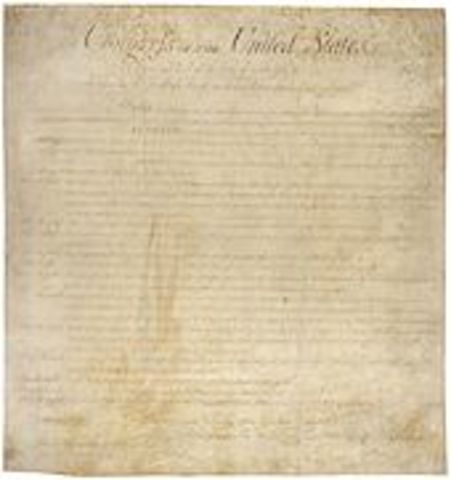Fifth Amendment is ratified