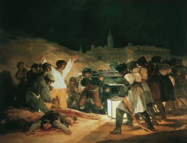 """""""El tres de mayo"""" Goya"""