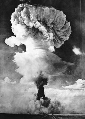 Leading to Vietnam- USSR conducts first successful atomic bomb test