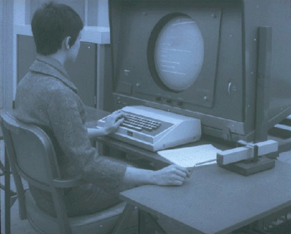 1968 - Первая компьютерная мышь